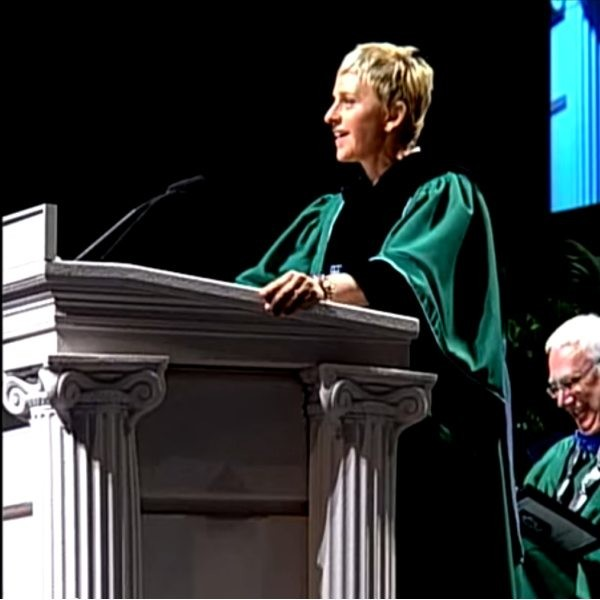 Ellen, on finding your own way, mustering up courage, and living with integrity.