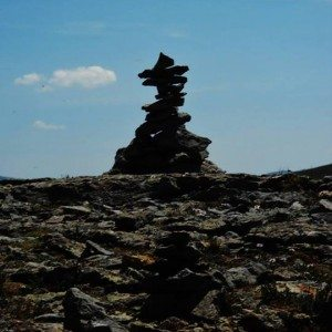 "Joel's Inukshuk - ""We Were Here!"""