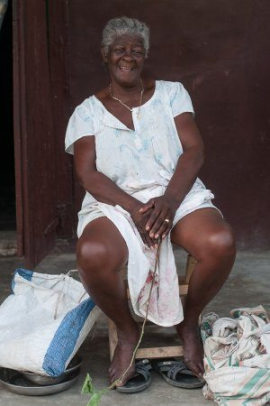 Our Fifth Kiva Diva - Mme in Haiti - August 2014