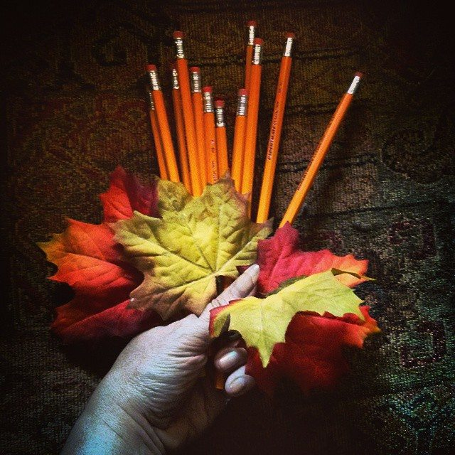 Bouquet of Pencils