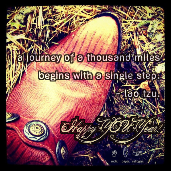 A journey of a thousand miles begins with a single step.  What will YOUR first step be?