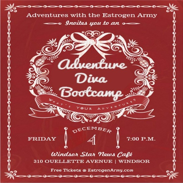 Adventure Diva Bootcamp @ Windsor – December 4th, 2015