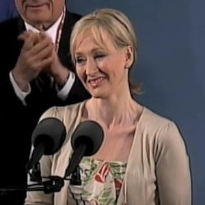 J. K. Rowling's inspiring commencement address to Harvard University graduates, June 5, 2008