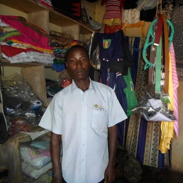 God's in the Clothing Business.  No, really … (and he's our 26th Kiva entrepreneur)