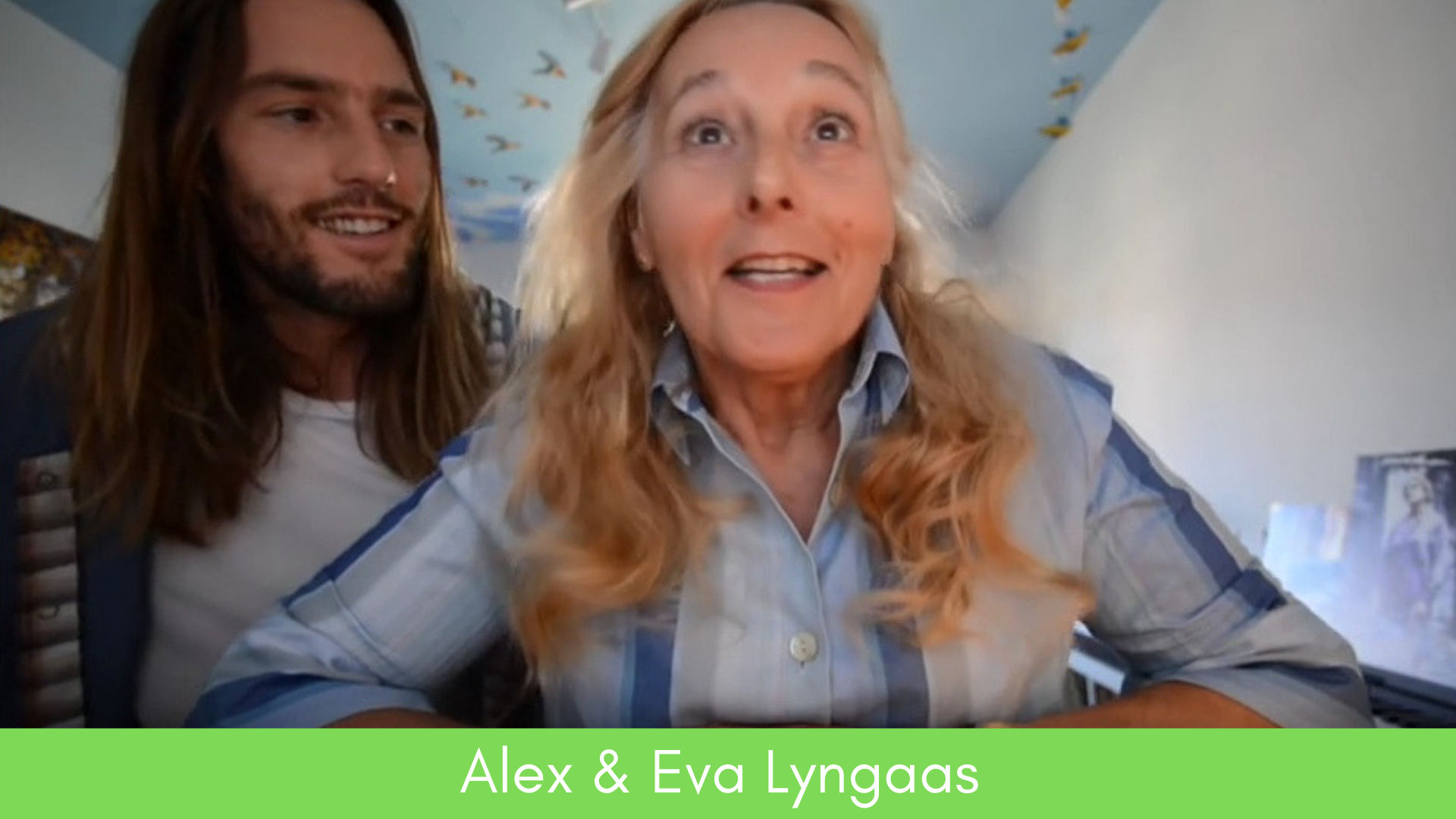 Alex Lyngaas loves his mum. He loves her so much that he wants to help her find the love of her life. Over the course of a year he had been filming her, but until last May, she had no idea why. 69-year-old Adventure Diva Eva could be any of us: a woman in act two, living life solo, with someone who cares about us wanting more for us. Take a peek at the moment Eva discovers what her son has been up to, then c'mon back here and weigh in! What would YOU do if you were Eva? Would you embrace the unconventional adventure that someone who cared about you set you on? C'mon over and join us at the kitchen table, and share your thoughts!