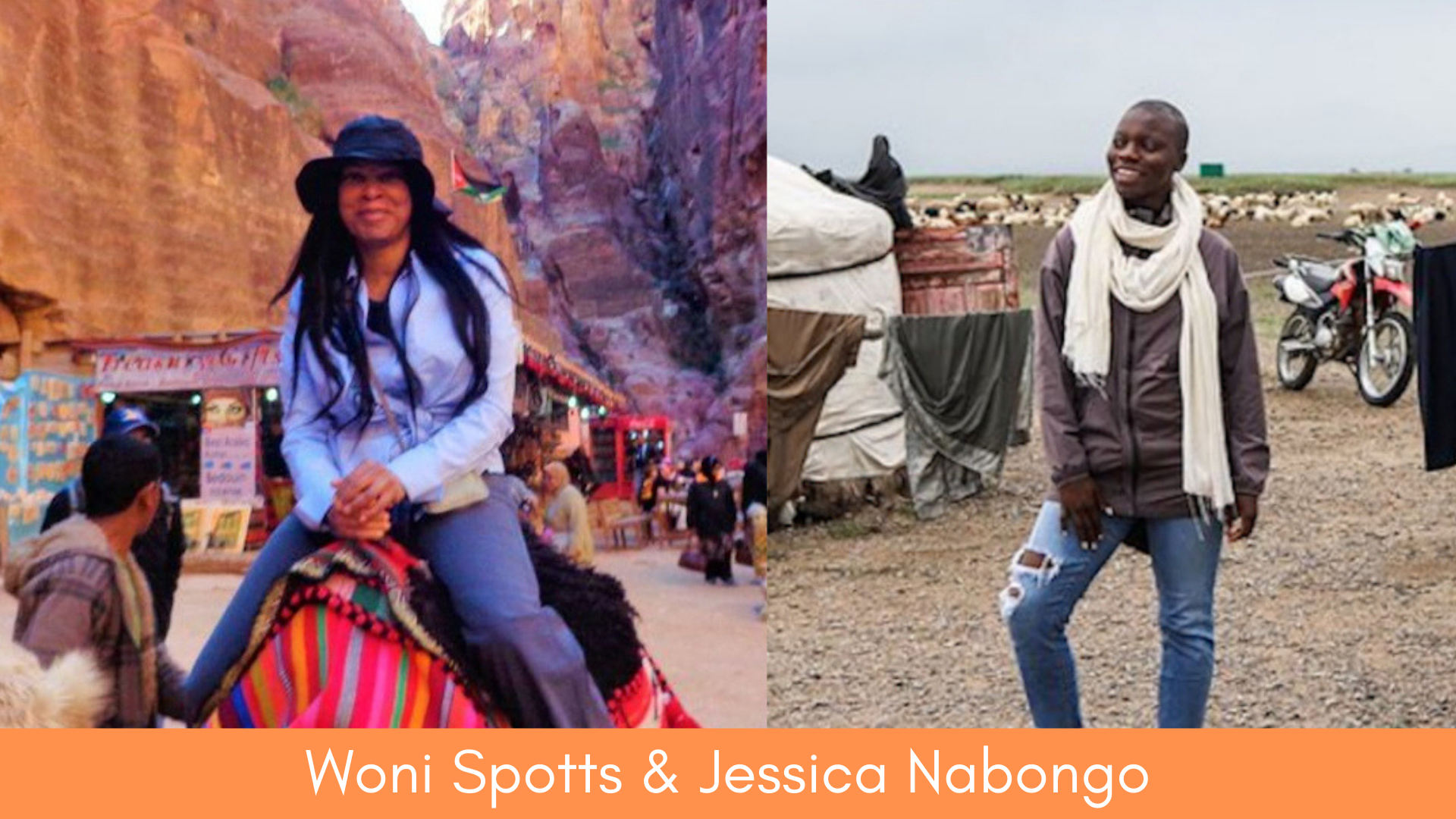 Two Adventure Divas set out to be the first black woman to travel to every country in the world. 55-year-old Woni Spotts did it without sharing it on the internet, while Jessica Nabongo is still very much in the throes of her own adventure but closing in on the finish line (visiting country 189 of 195 as I write this) and sharing it online.