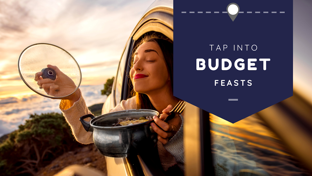 Tap into Budget Feasts.  Put your elbows on the table!