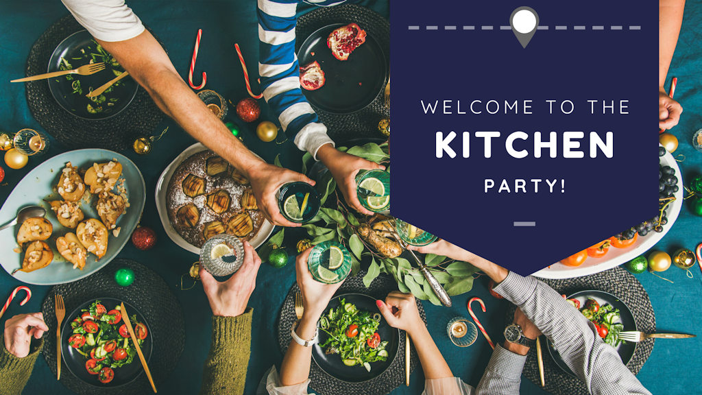 Welcome to the Kitchen Party!  Put you elbows on the table and join in!